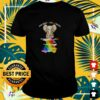LGBT Elephant the only choice I made was to be myself t-shirt