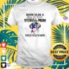 Pitbull born to be a stay at home pitbull mom forced to go to work t-shirt