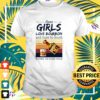 Some girls love bourbon and cuss too much it's me i'm some girls vintage t-shirt