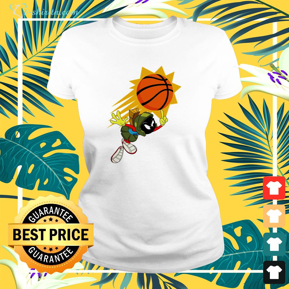 The Suns X Space Jam Marvin  ladies-tee