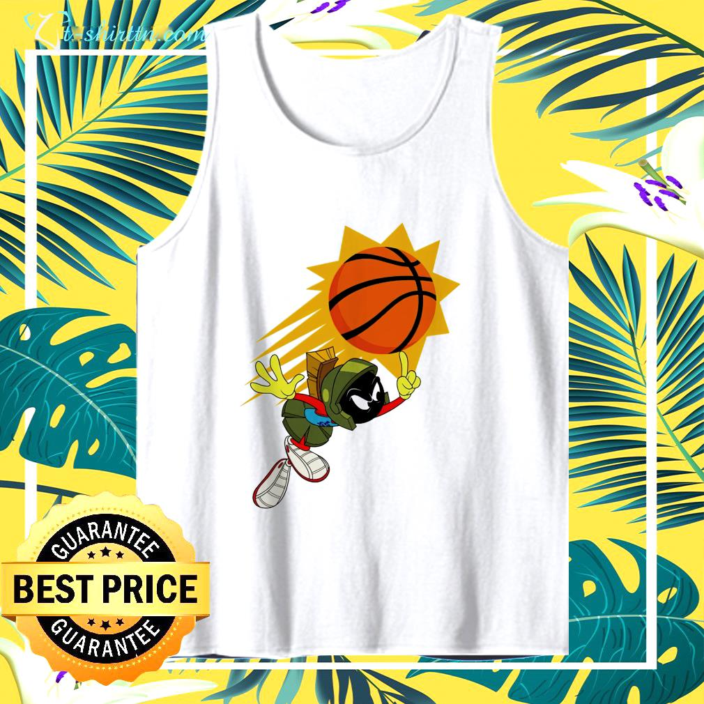 The Suns X Space Jam Marvin tank top