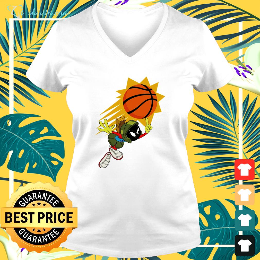 The Suns X Space Jam Marvin v-neck t-shirt
