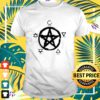 Witch pentacle spirit water fire earth air t-shirt