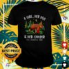 A girl her dog and her camper it's a beautiful thing shirt