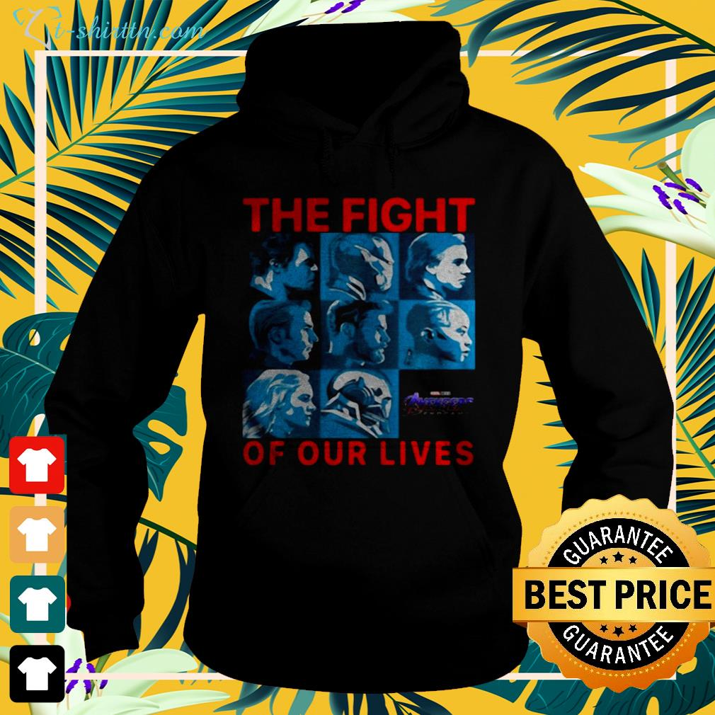 Avengers Endgame the fight for our lives hoodie