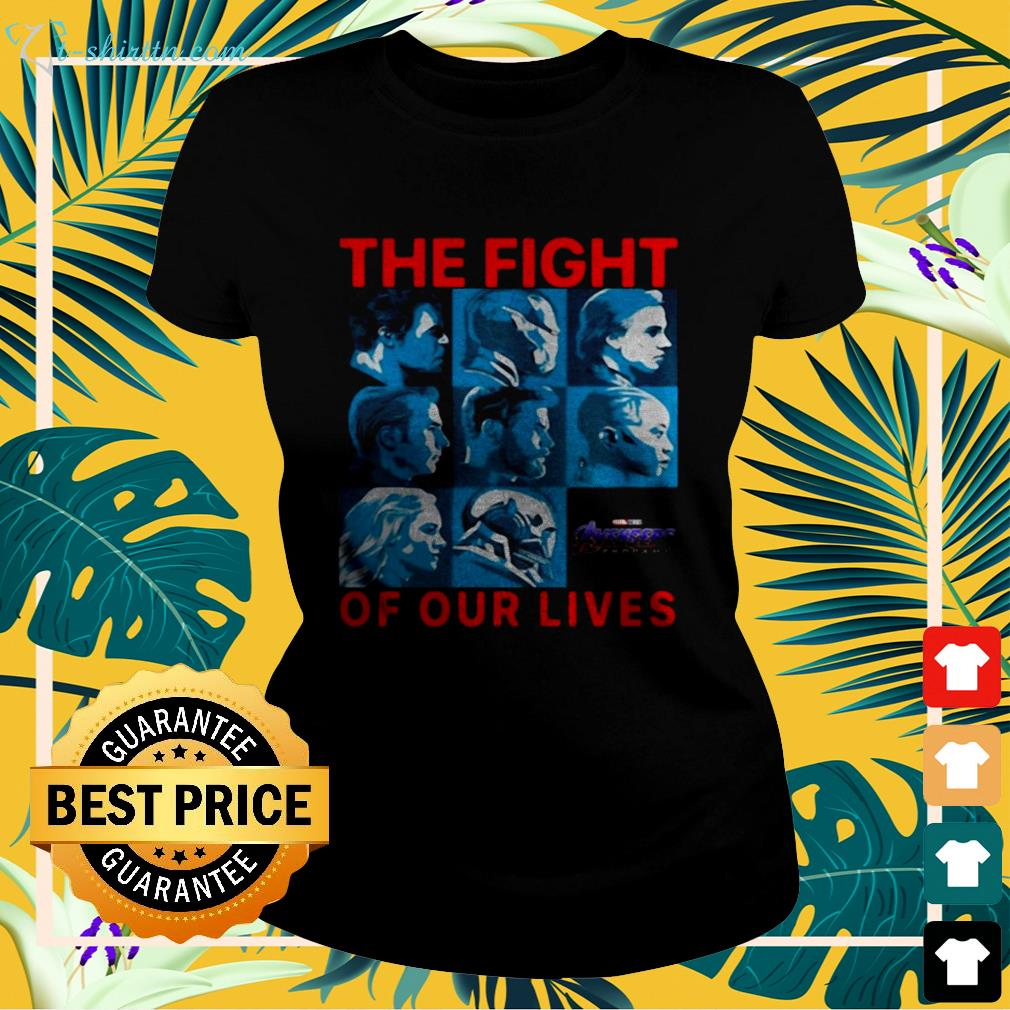 Avengers Endgame the fight for our lives ladies-tee