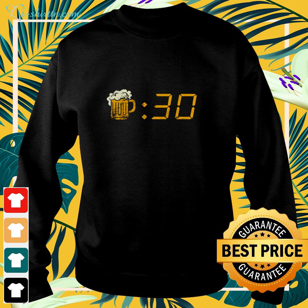 Beer 30 funny sweater