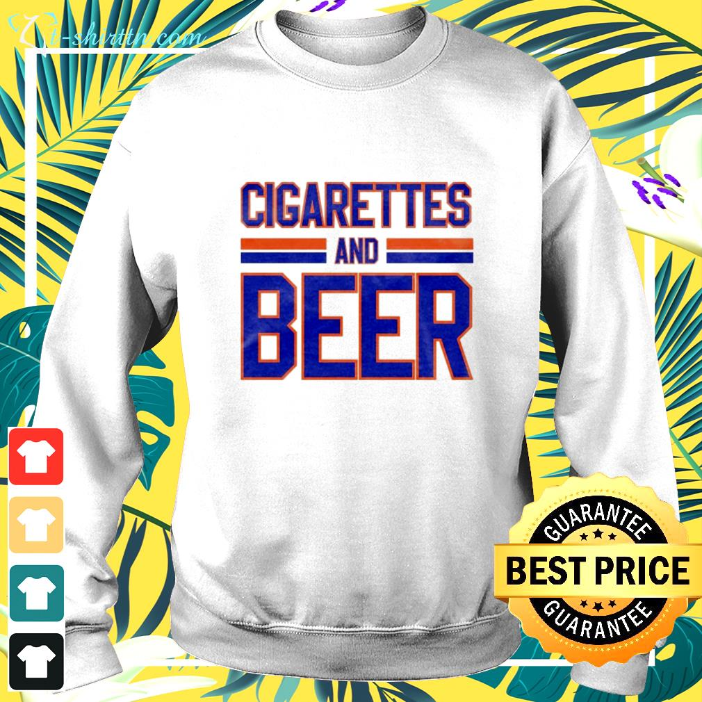 Cigarettes and Beer sweater