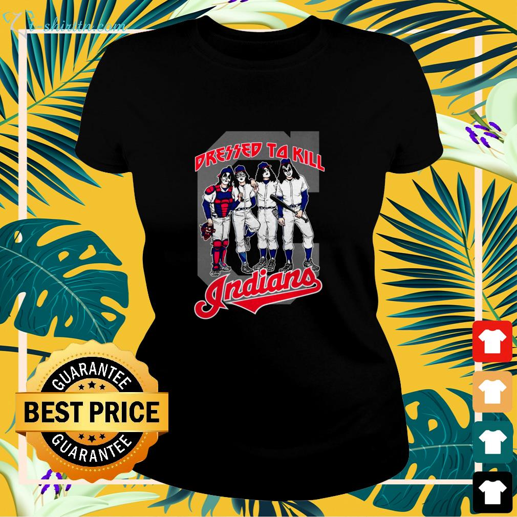 Cleveland Indians Dressed to Kill  ladies-tee