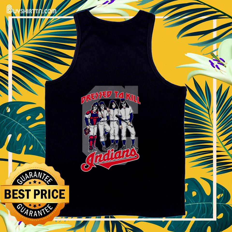 Cleveland Indians Dressed to Kill tank top