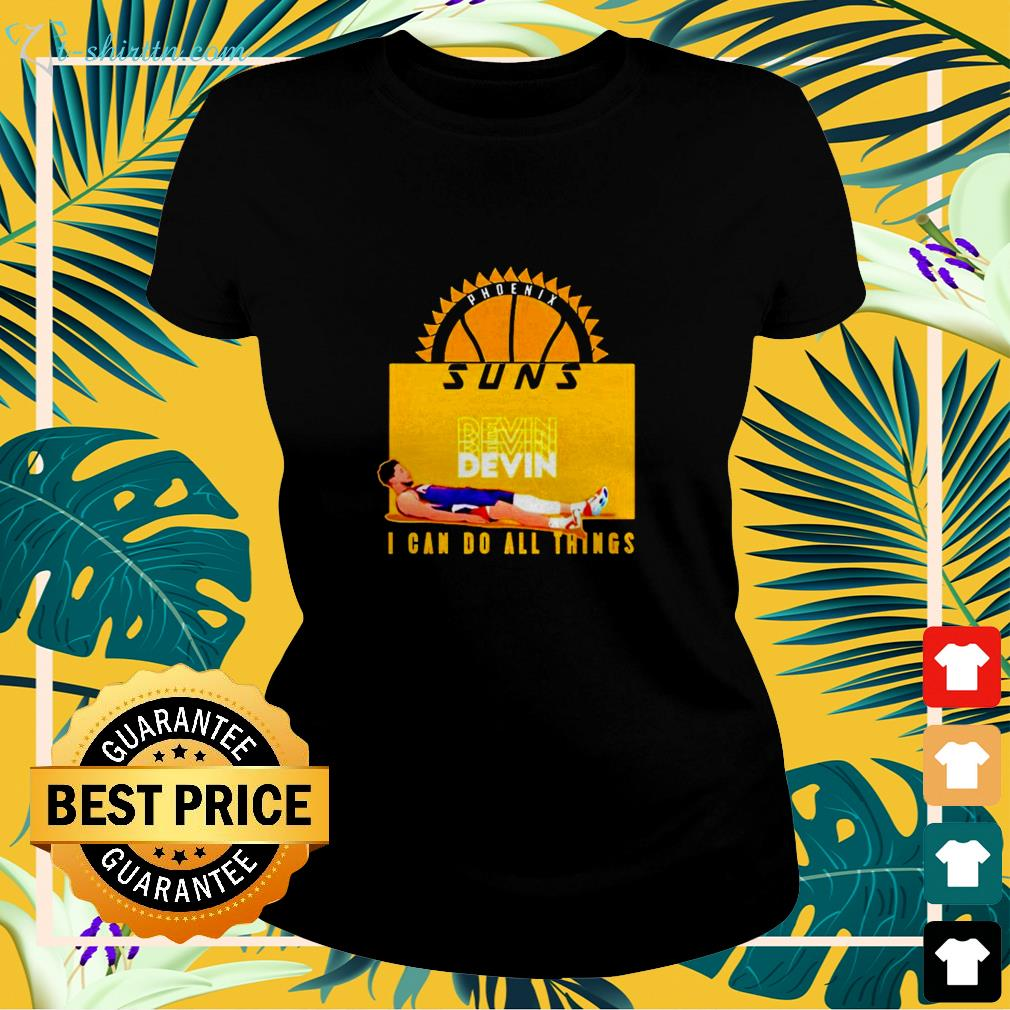 Devin Phoenix Suns I can do all things ladies-tee