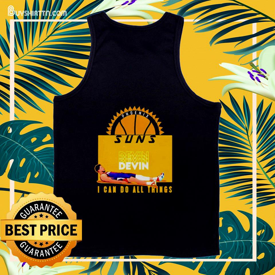 Devin Phoenix Suns I can do all things  tank top