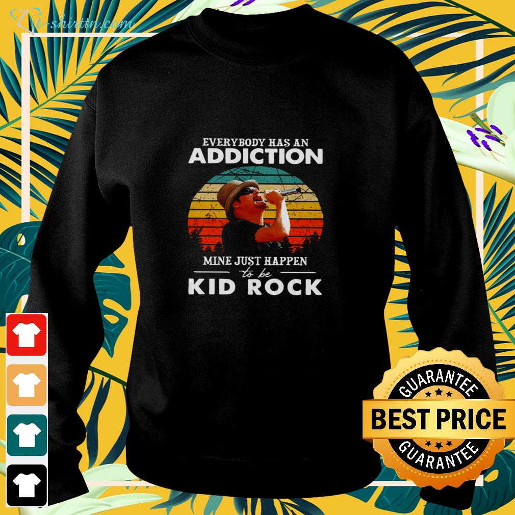 Everybody has an addiction mine just happen to be Kid Rock vintage sweater