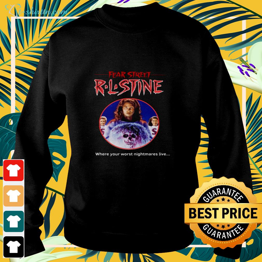 Fear Street R.L.Stine where your worst nightmares live sweater