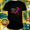 Fight cancer in all colors shirt