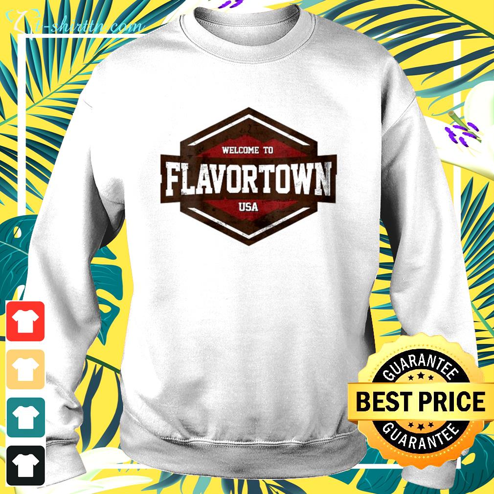Flavortown Food Culture Distressed Look sweater