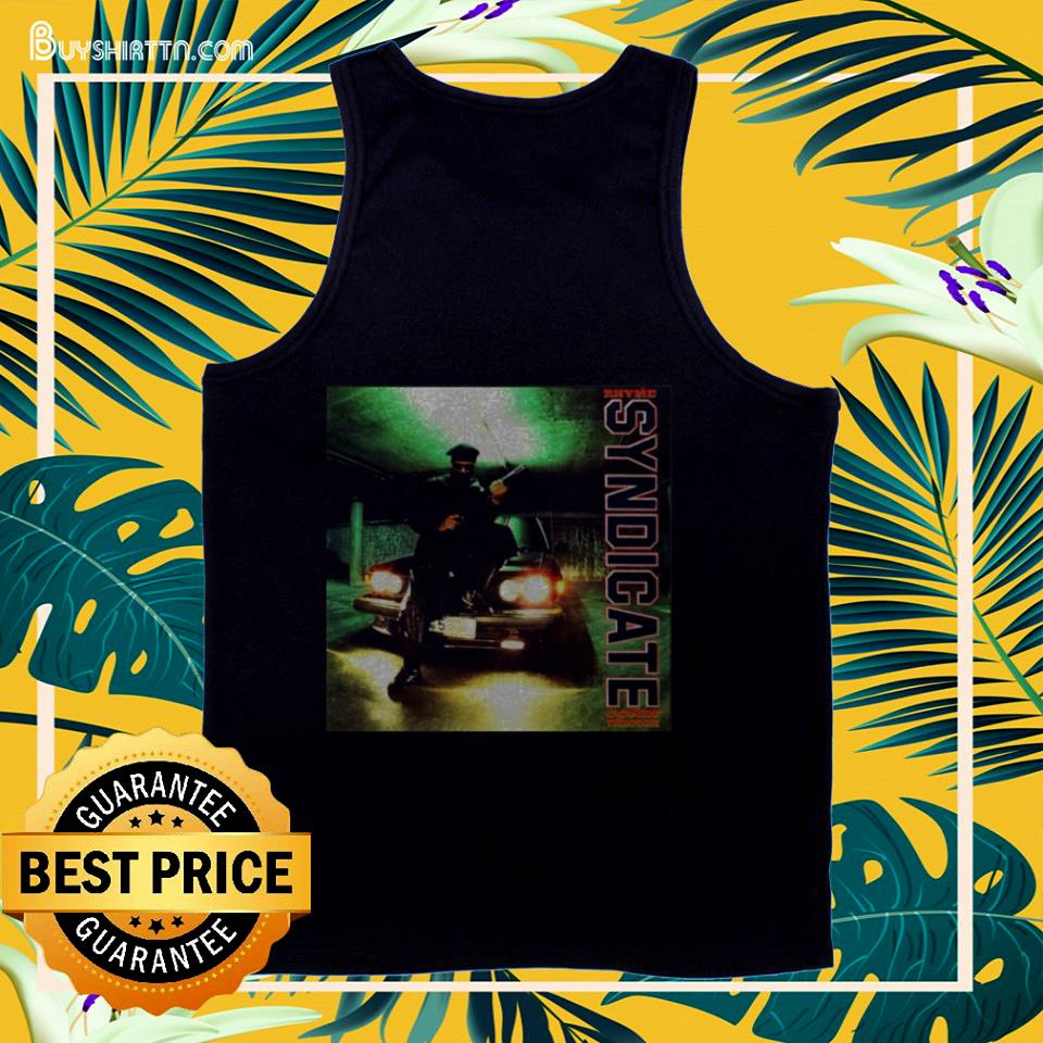 Funny Rhyme Syndicate Comin' Through tank top