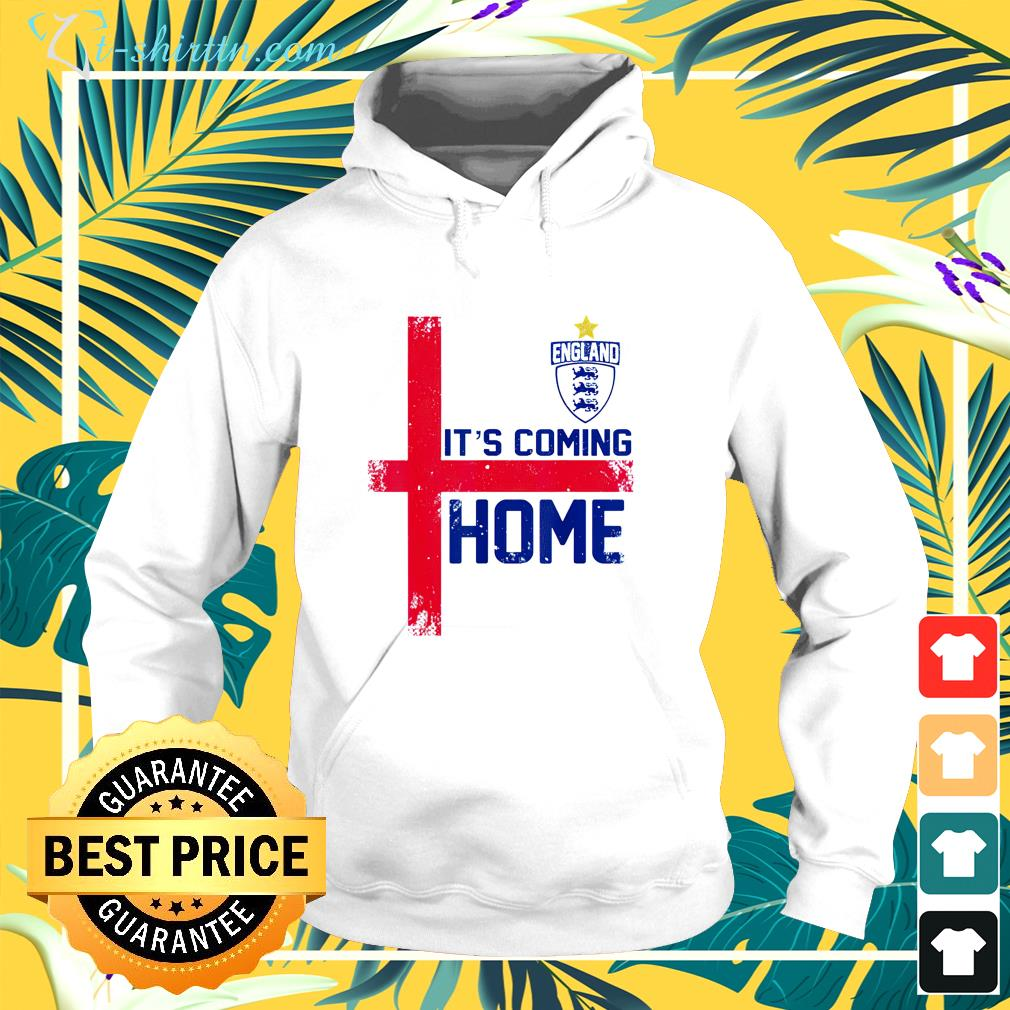 It's Coming Home England Football soccer Jersey style retro hoodie