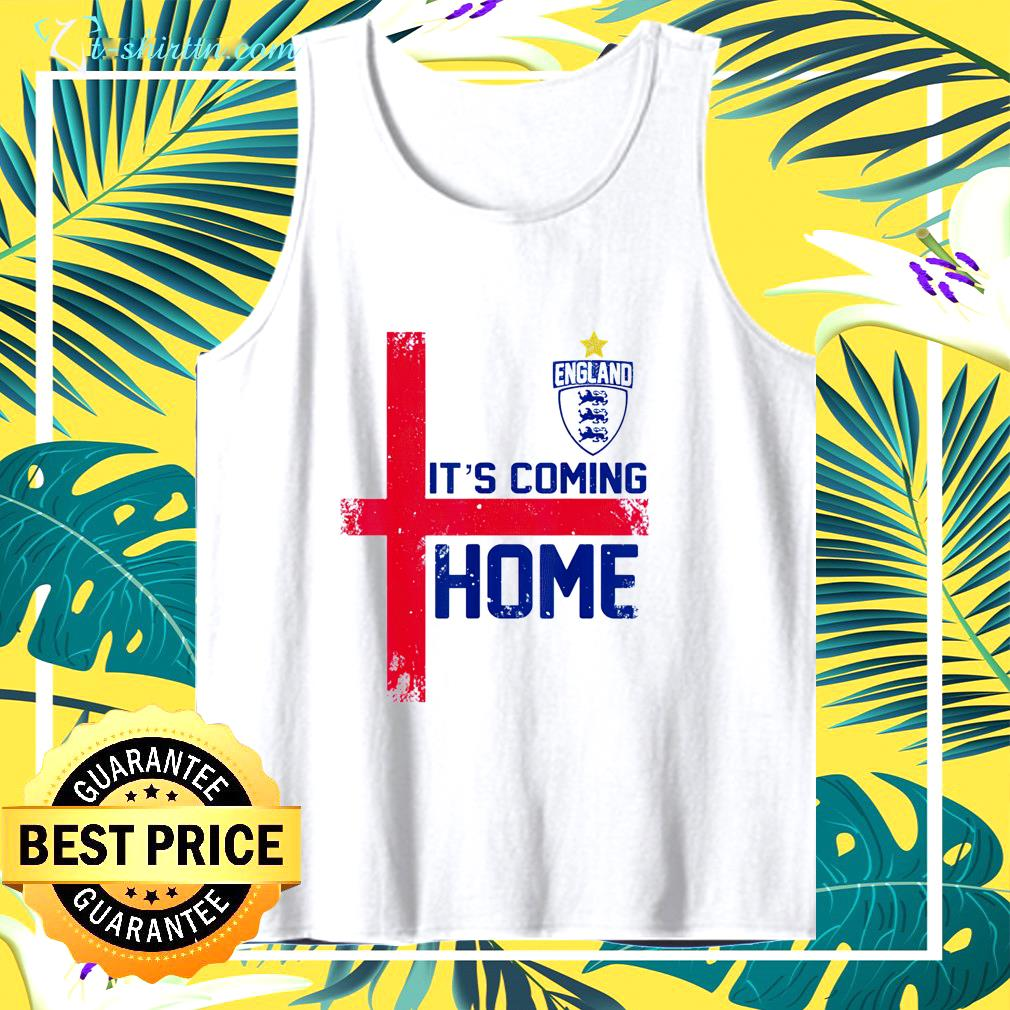It's Coming Home England Football soccer Jersey style retro  tank top