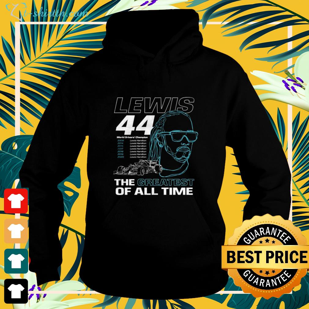 Lewis the greatest of all time hoodie