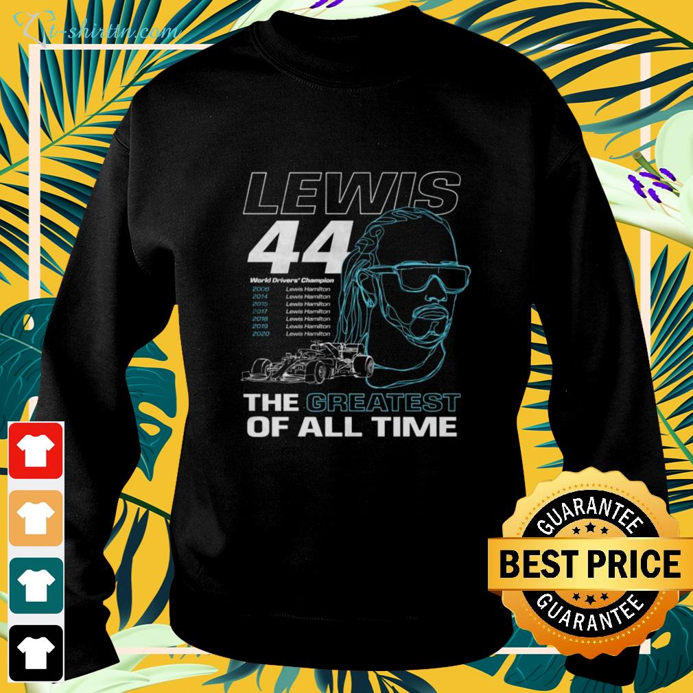 Lewis the greatest of all time sweater
