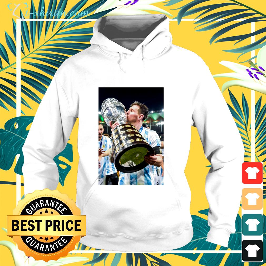 Maillot Messi Argentina Copa America 2021 hoodie
