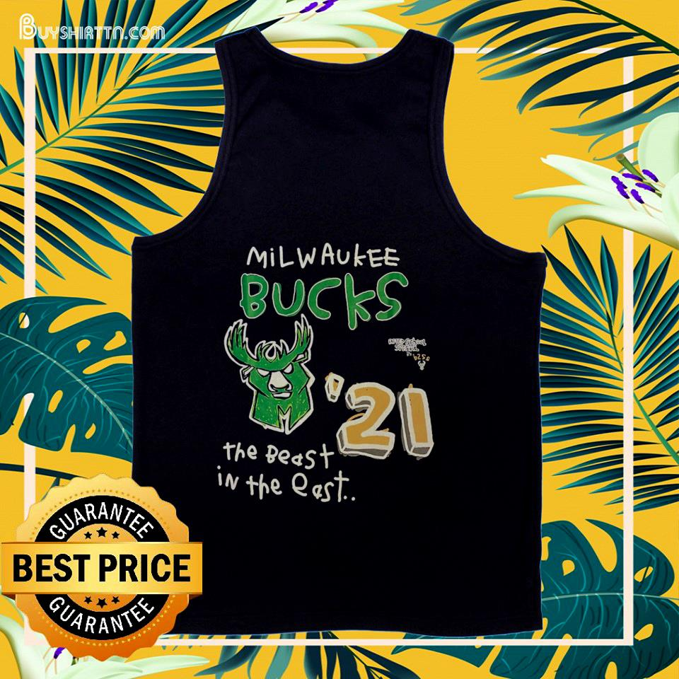 Milwaukee Bucks After School Special 2021 NBA Conference tank top