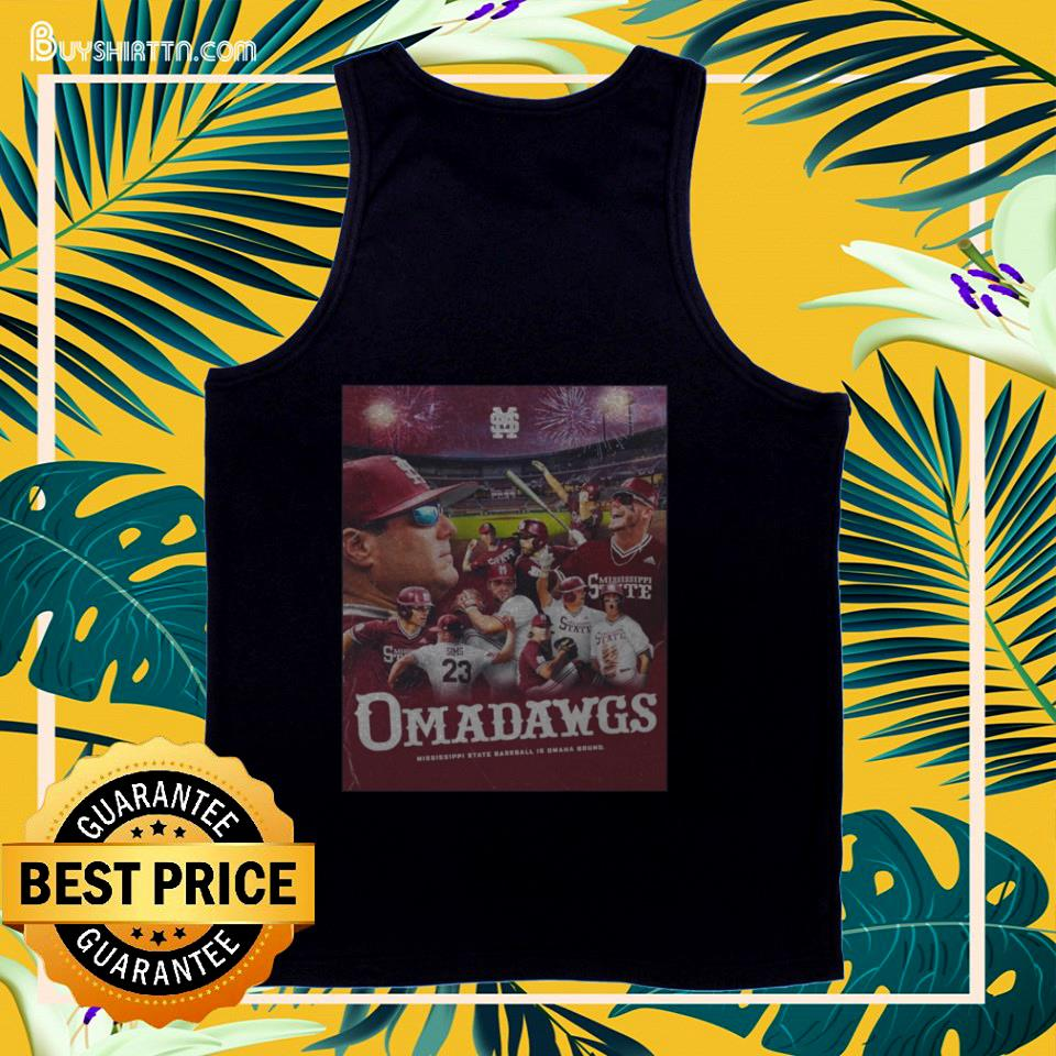 Mississippi State Baseball Is Omaha Bound National Championships 2021 tank top