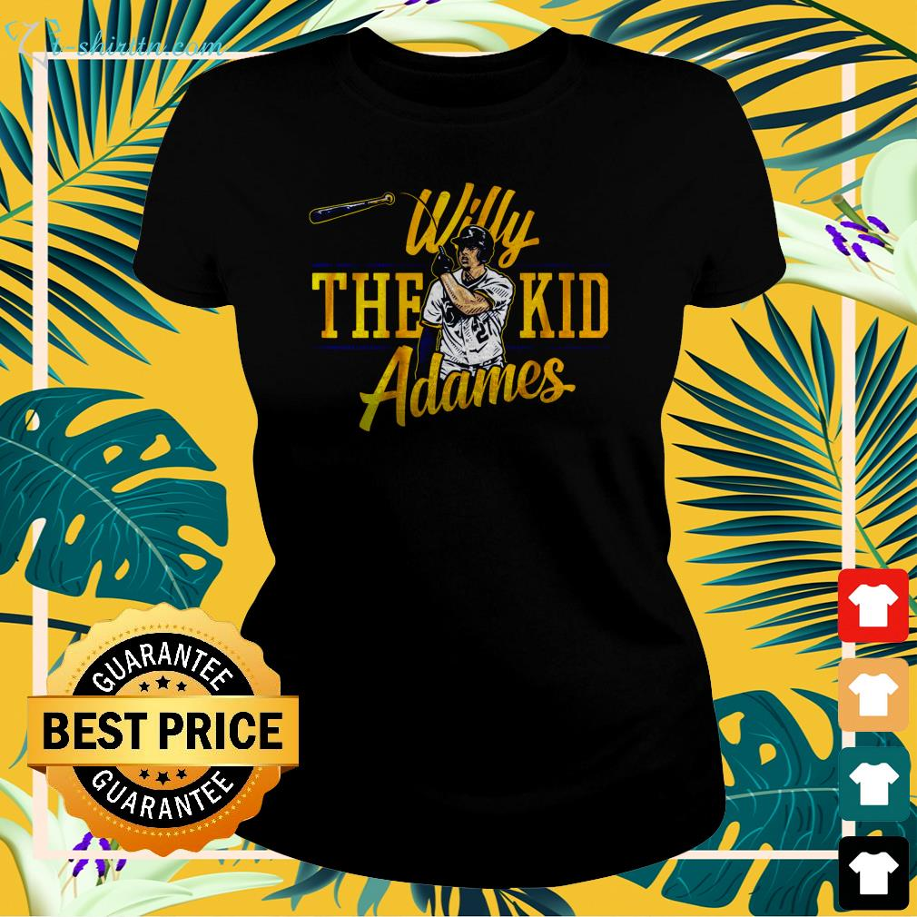 Official Willy The Kid Adames  ladies-tee