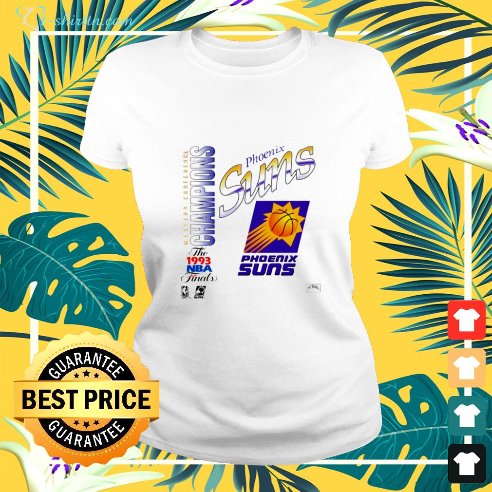 Phoenix Suns 1993 Western Conference Champions NBA Finals ladies-tee