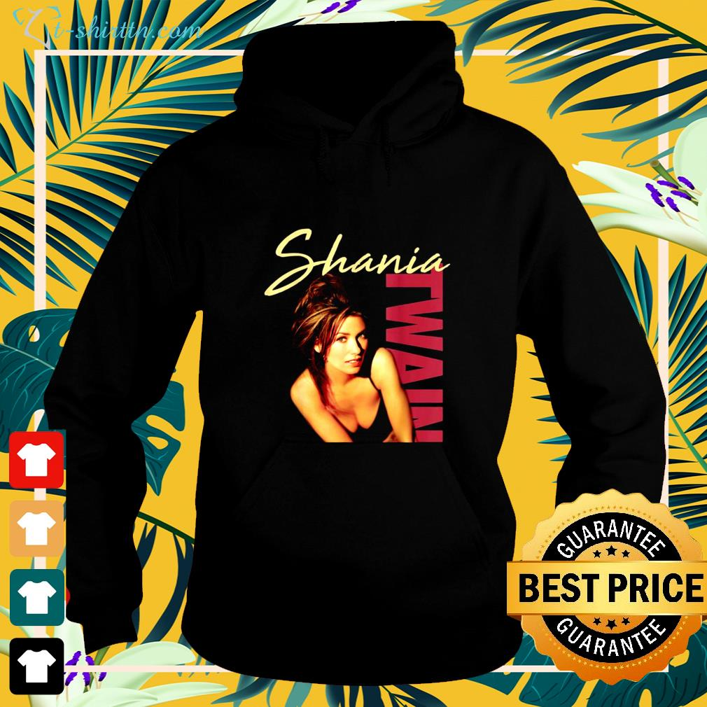 Shania Twain Official Color Photo hoodie