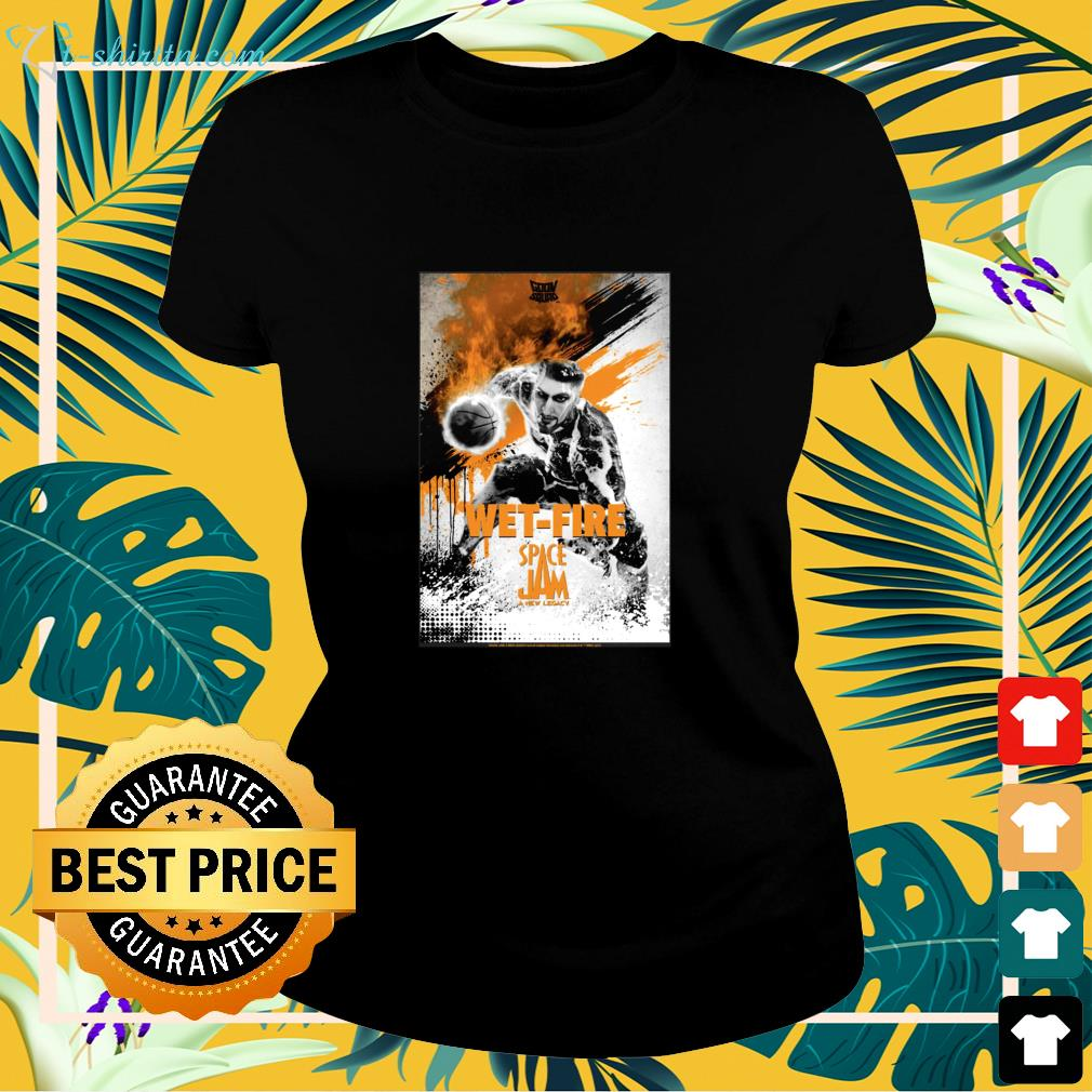 Space Jam A New Legacy Wet-Fire ladies-tee
