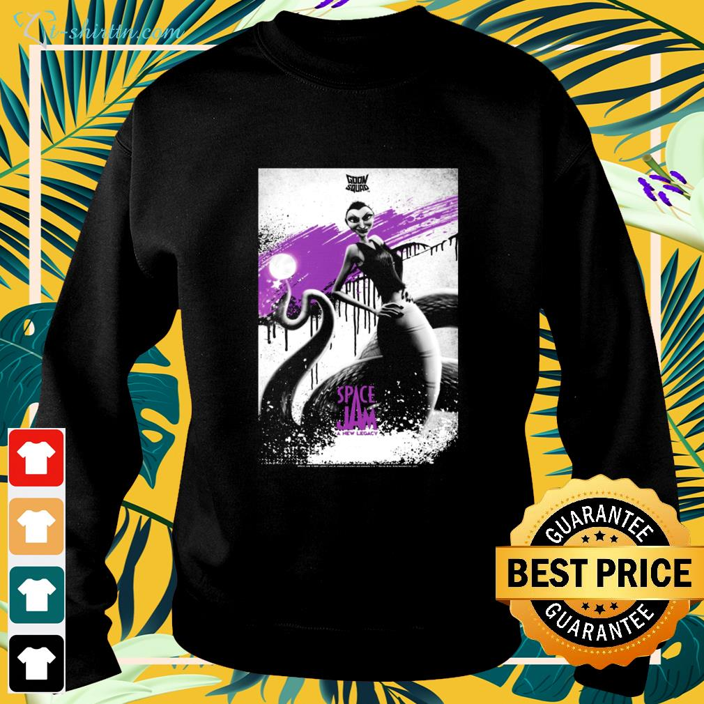 Space Jam A New Legacy White Mamba sweater