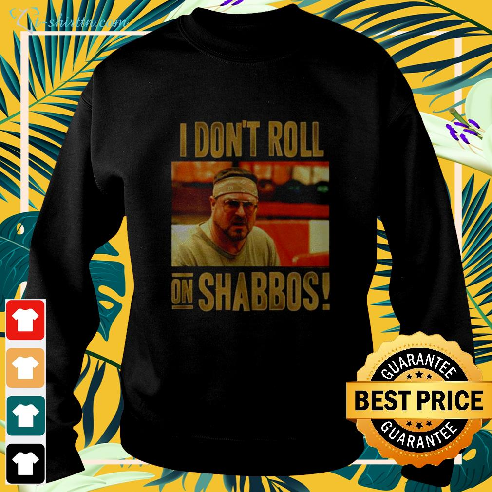 The Big Lebowski Don't Roll on Shabbos sweater