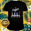 The Dodgers players and Vin Scully Abbey Road signature shirt