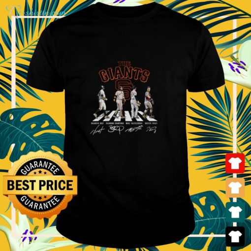 The Giants Abbey Road signature shirt