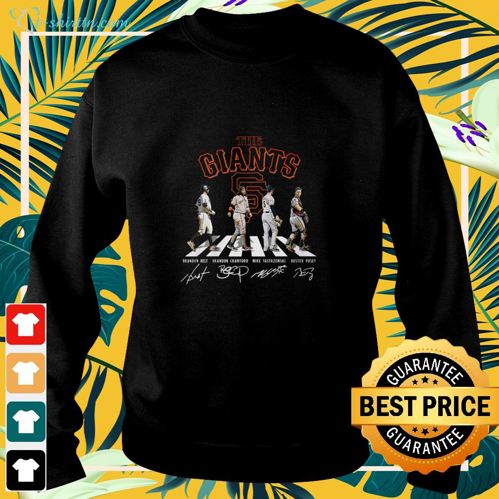 The Giants Abbey Road signature sweater