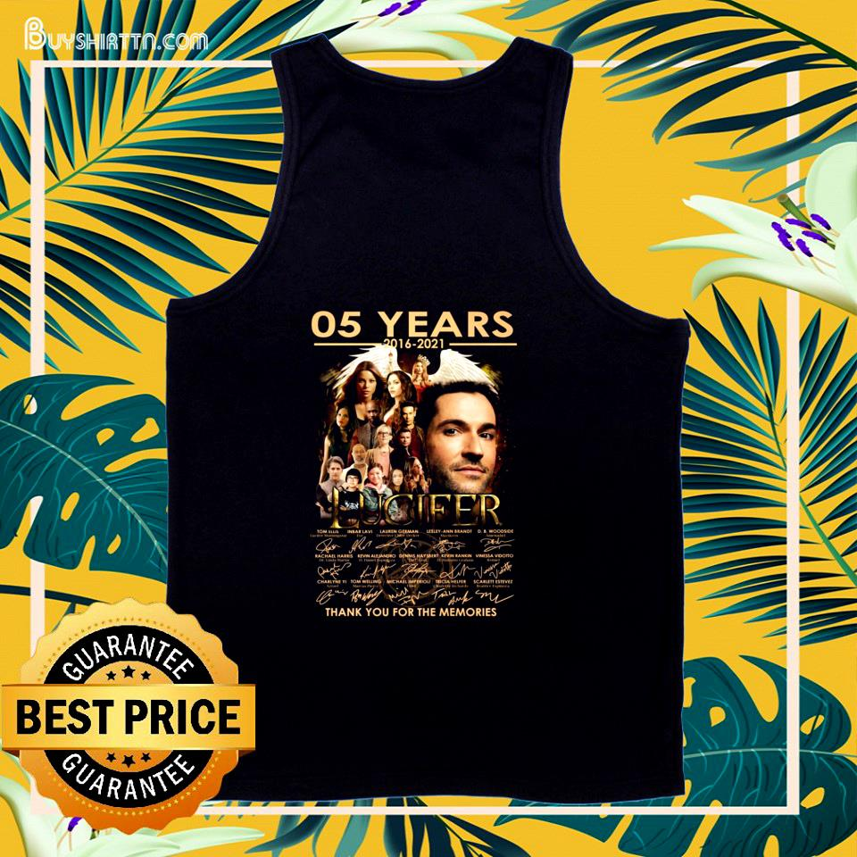 05 years 2016-2021 Lucifer signatures tank top