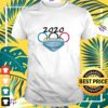 2020 Olympic Rings with mask shirt