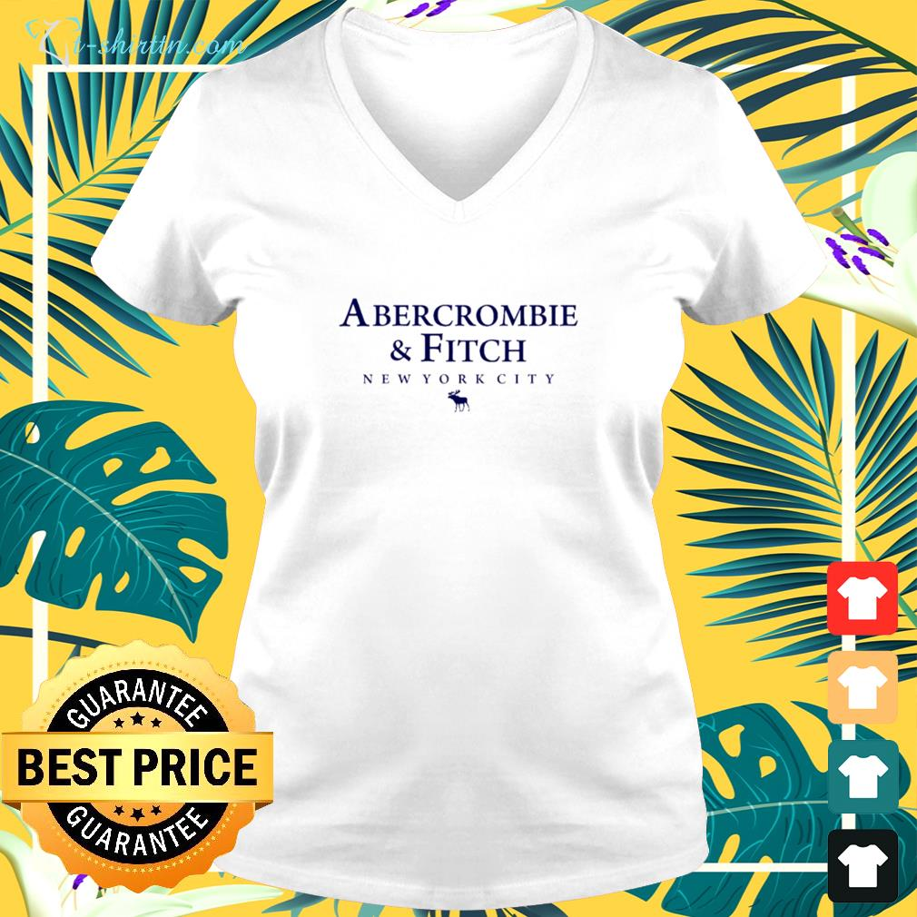 Abercrombie And Fitch New York City v-neck t-shirt