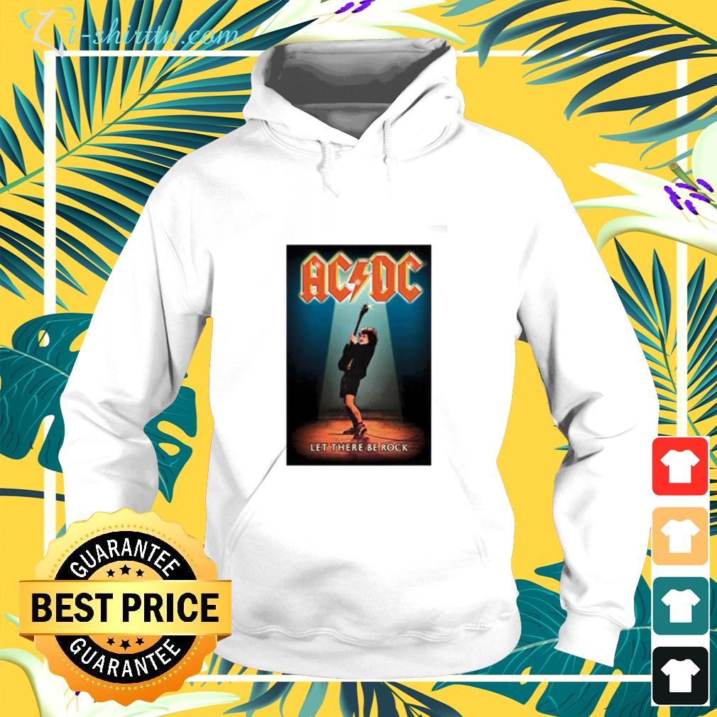 AC DC Hits Greatest let there be rock hoodie