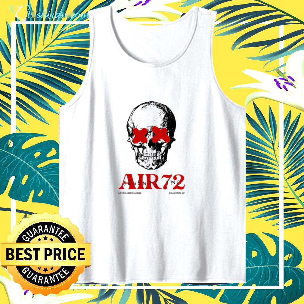 Air72 Seven two skull tank top