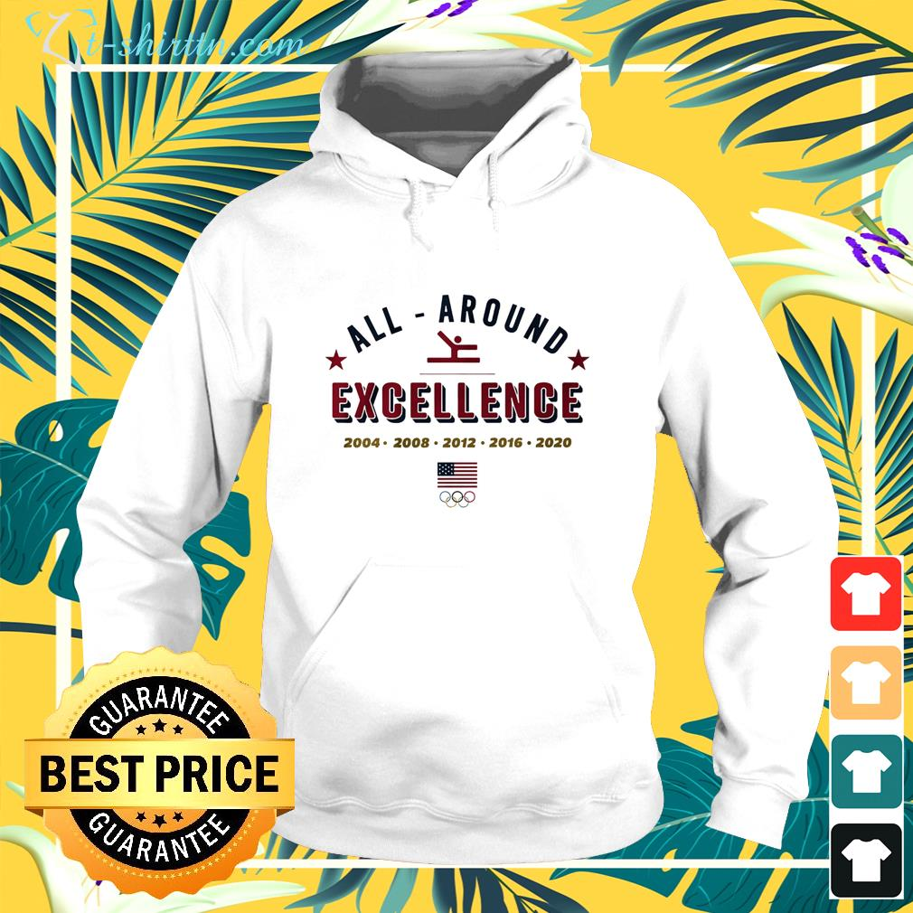 All Around Excellence 2004 -2020 hoodie