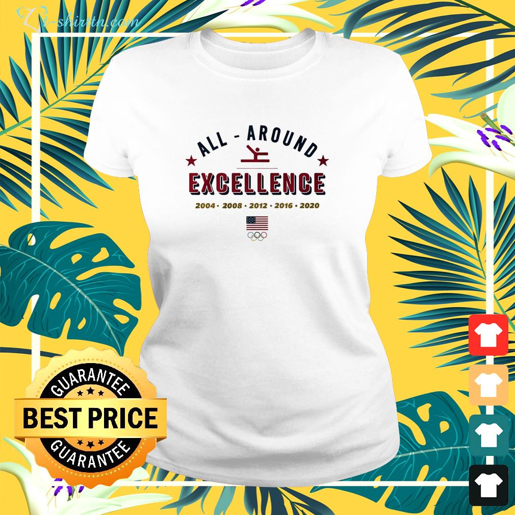 All Around Excellence 2004 -2020 ladies-tee