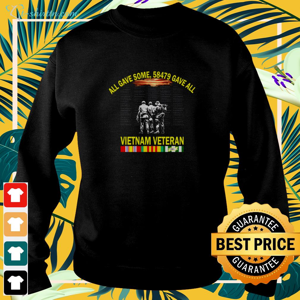 All gave some 58479 gave all Vietnam veteran sweater