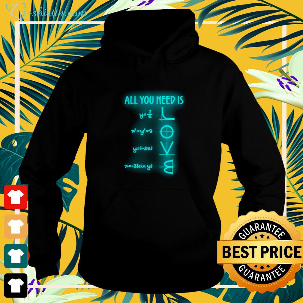 All you need is Math lover hoodie
