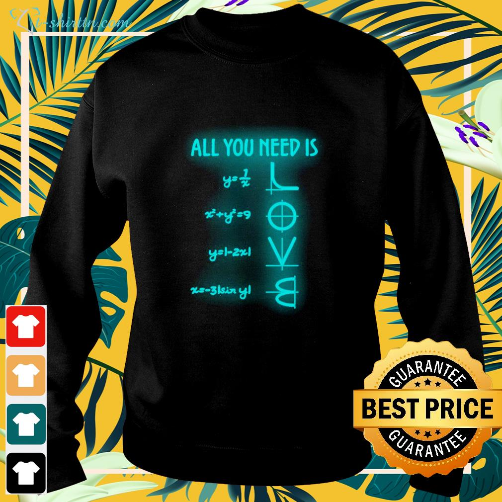 All you need is Math lover  sweater