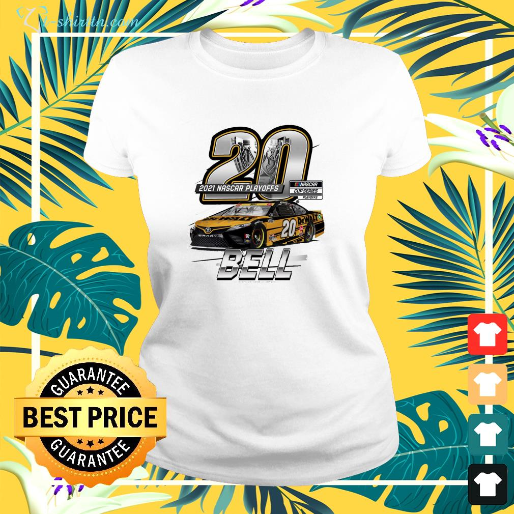 Christopher Bell Joe Gibbs Racing Team Collection 2021 NASCAR Cup Series Playoffs ladies-tee