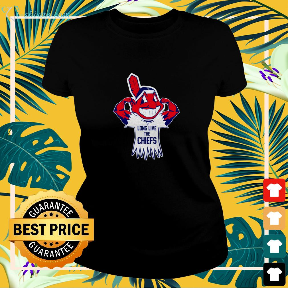 Cleveland Indians Long live the chiefs ladies-tee