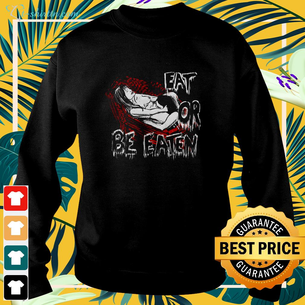 Come Hither Vampire eat or be eaten Halloween sweater